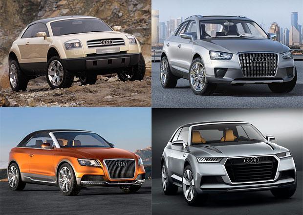 Neobvyklá SUV značky Audi: Prémioví experimentátoři