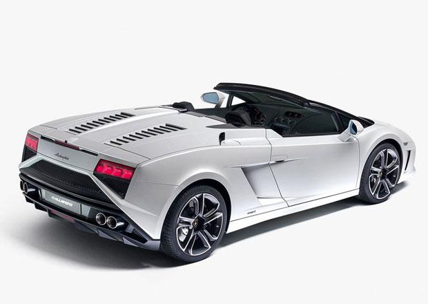 Lamborghini Gallardo Spyder jde pro rok 2013 ve stopách kupé