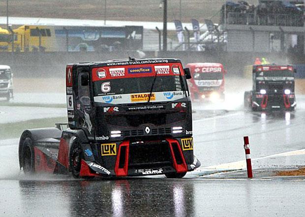 Mistrovství Evropy trucků 2012: Jochen Hahn opět mistrem