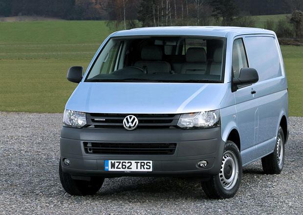 VW Transporter BlueMotion: 6,3 l nafty na 100 km