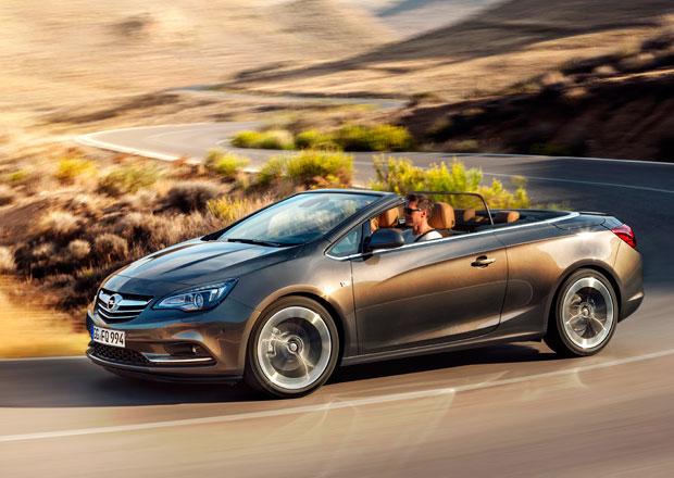 Opel Cascada míří s plátěnou střechou do střední třídy