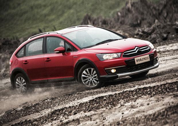Citroën C4 Cross: Stará C4 nazula holinky