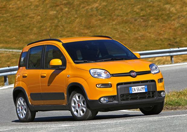 Fiat Panda 4x4 a Trekking se odhalují na nových fotkách