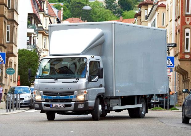 Fuso Canter Eco Hybrid vstoupilo do Evropy