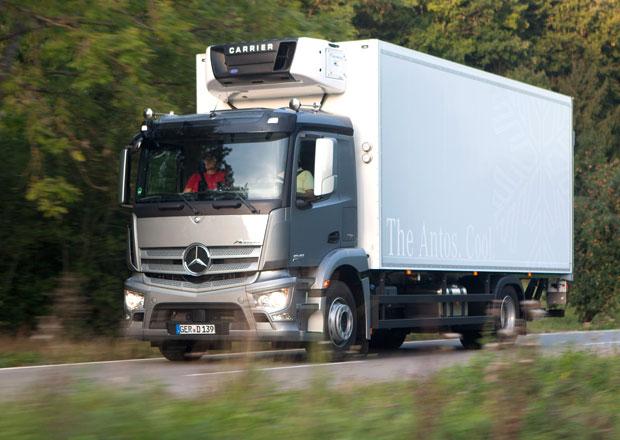 Mercedes-Benz Antos: Pro krátké trasy