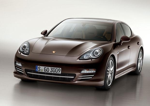 Porsche Panamera Platinum Edition nabídne více exkluzivity