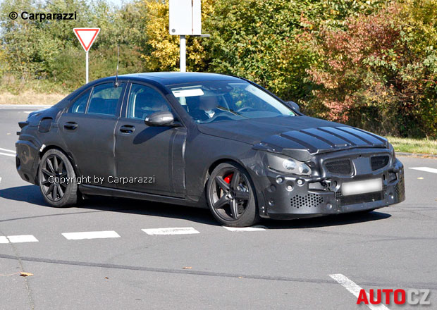 Spy Photos: Mercedes-Benz C 55 AMG