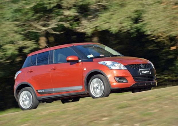 Suzuki Swift Outdoor: Ter�nn� svi�� proti Pand� 4x4