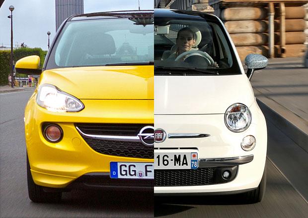Designový duel: Fiat 500 vs. Opel Adam