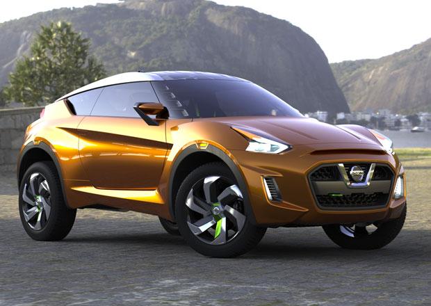 Nissan Extrem je koncept sportovně laděného crossoveru pro Brazílii