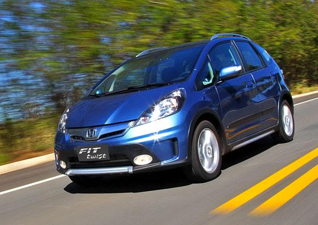 Honda Fit Twist: supermini pro brazilskou (silniční) džungli