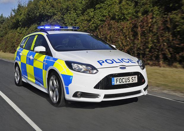 Ford Focus ST: Nová výzbroj britské policie