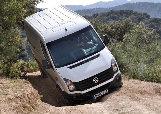 Jízdní dojmy: Volkswagen Crafter 4x4