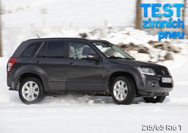 ADAC Testy zimních pneumatik: Rozměr 215/65 R16 T pro SUV