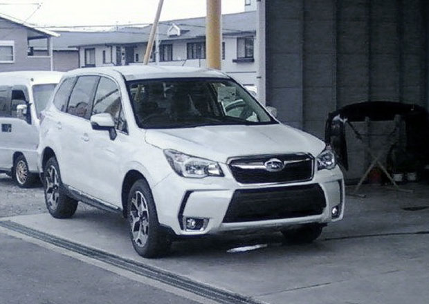 Spy Photos: Nové Subaru Forester na japonských silnicích