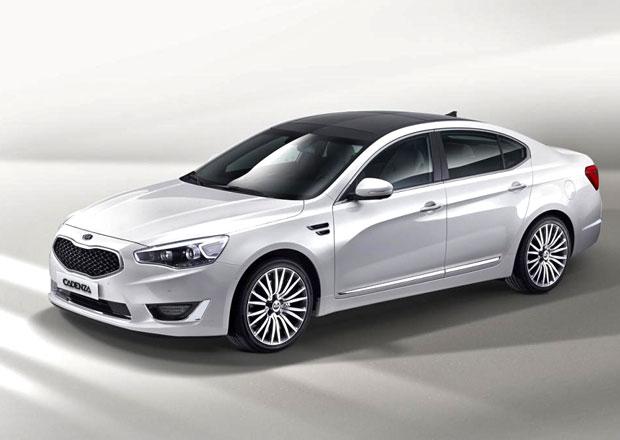 Kia Cadenza dostane tygří nos: Facelift pro model 2013
