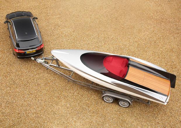 Concept Speedboat: Karbonová jachta od Jaguaru