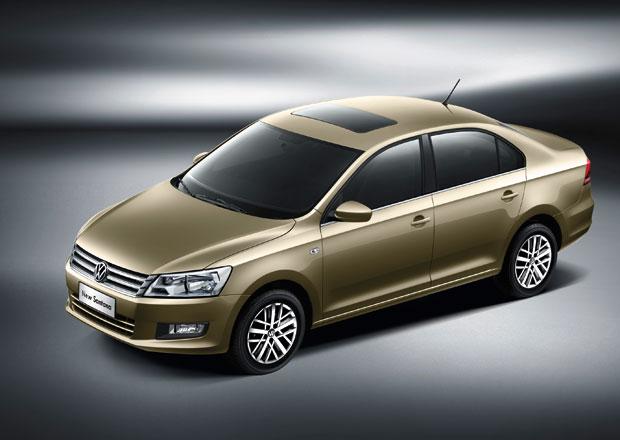 VW Santana pro čínský trh: Passat s geny Rapidu