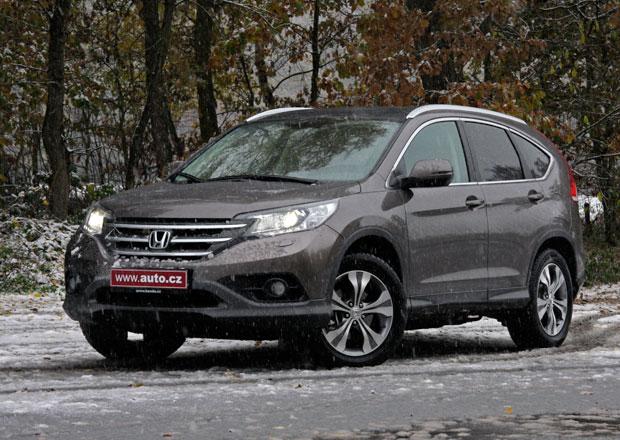 Honda CR-V: První jízdní dojmy