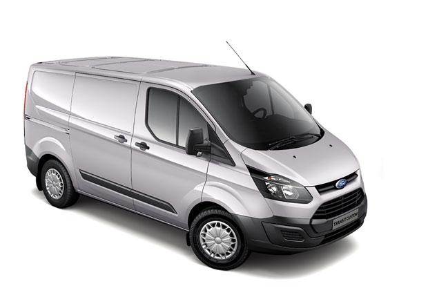 Ford Transit Custom ECOnetic se spotřebou 6,0 l na 100 km