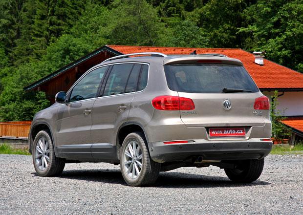 VW Tiguan: 130 kW pro kombinaci 2,0 TDI DSG