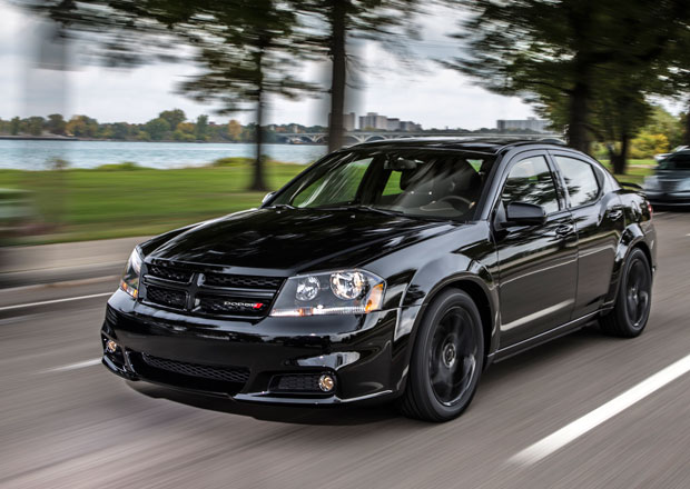 Dodge Blacktop: pakety pro Avenger, Challenger a Charger