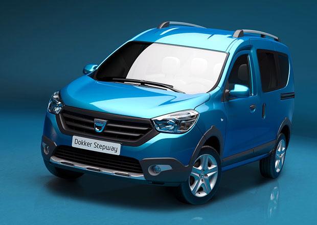 Dacia Dokker Stepway je levnou dodávkou se vzhledem SUV