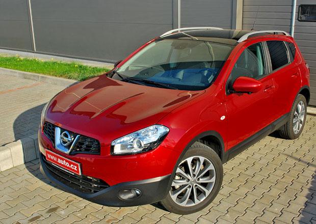 Nissan Qashqai zlevnil na 349.900 Kč