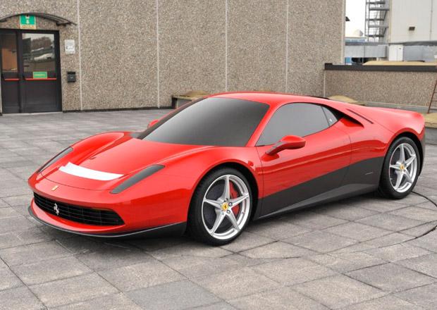 Ferrari SP12 EC na nových snímcích od Pininfariny