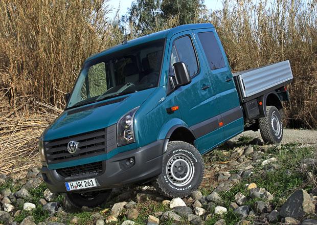 Volkswagen Crafter 4Motion vstoupil na český trh