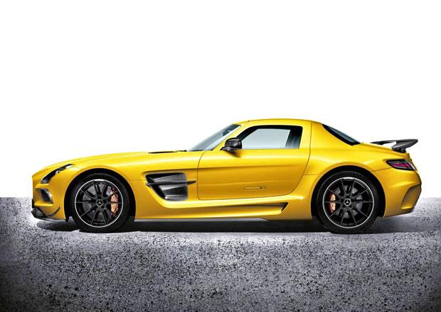 Mercedes-Benz SLS AMG Black Series: 464 kW a 8000 otáček
