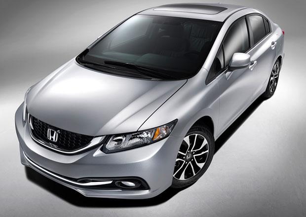 Facelift kritizované Hondy Civic 9G se představí v Los Angeles