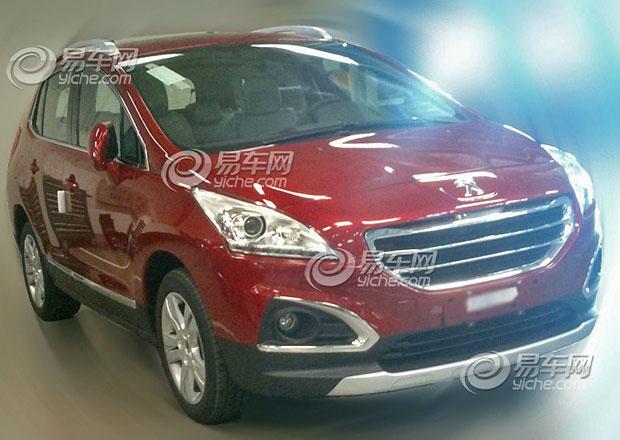 Omlazený Peugeot 3008 opět přistižen v Číně