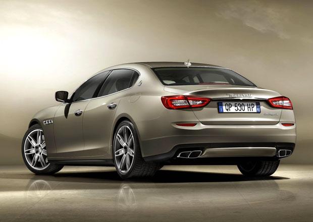 Maserati Quattroporte dostane turbodiesel i pohon všech kol