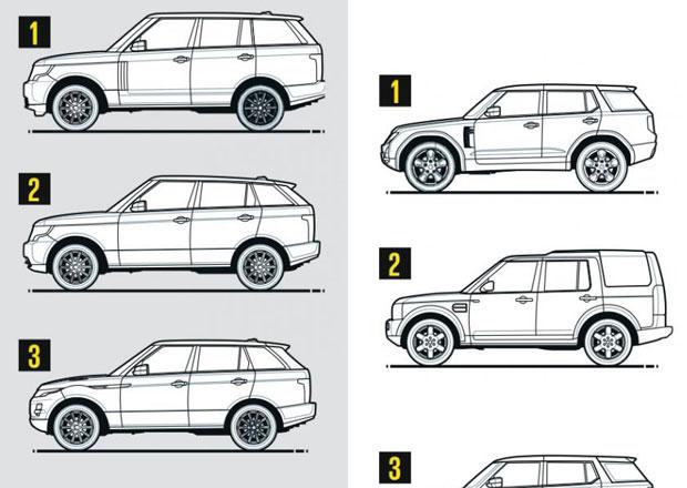Land Rover nabídne celkem 16 modelů, které to budou?