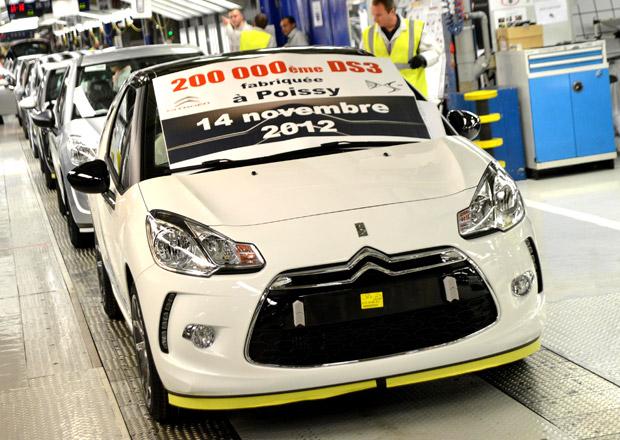 Citroën DS3: Za dva roky se vyrobilo už 200 tisíc kusů