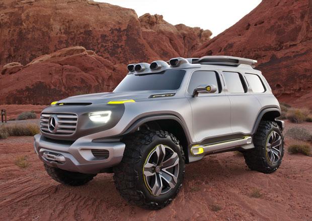 Mercedes-Benz Ener-G-Force je studií offroadu pro rok 2025