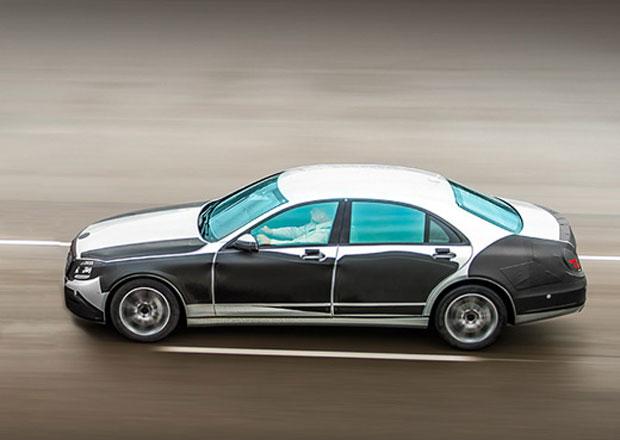 Mercedes třídy S, model 2014, chce být nejlepší luxusní sedan na světě