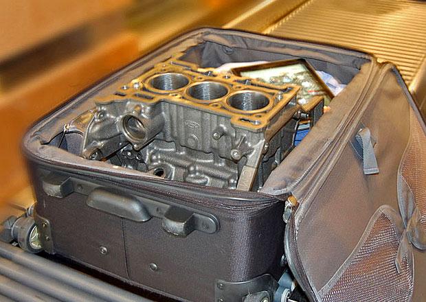 Tříválec Ford 1,0 EcoBoost zadržen při kontrole na letišti