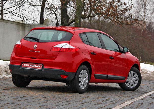 Renault vyprodává sklady: Mégane stojí jen 210 tisíc