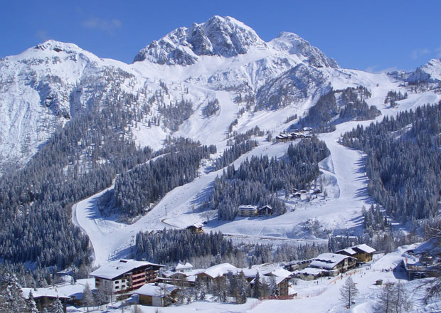 Autem na hory: Rakousko - Nassfeld