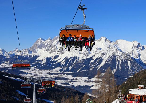 Autem na hory: Rakousko - Schladming Dachstein