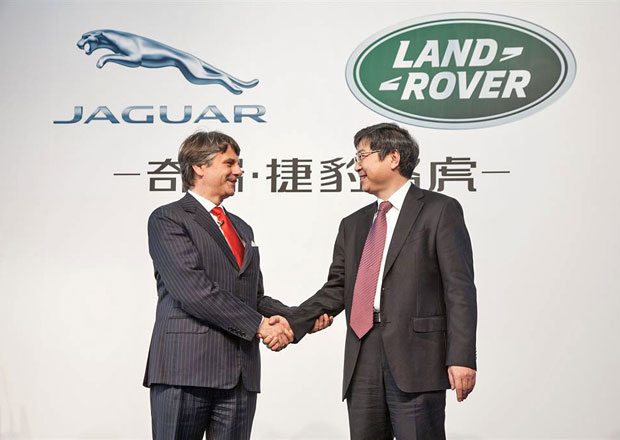 Jaguar-Land Rover bude vyrábět v Číně od roku 2014