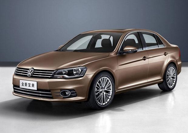 Čínský Volkswagen Bora prošel radikální modernizací