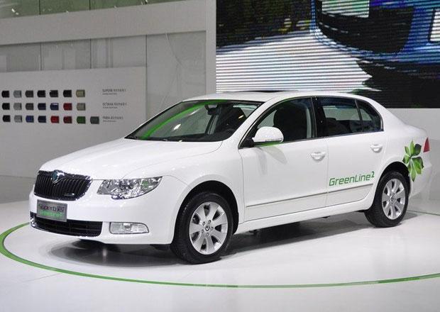Škoda Superb GreenLine: Číňané budou šetřit s motorem 1,4 TSI