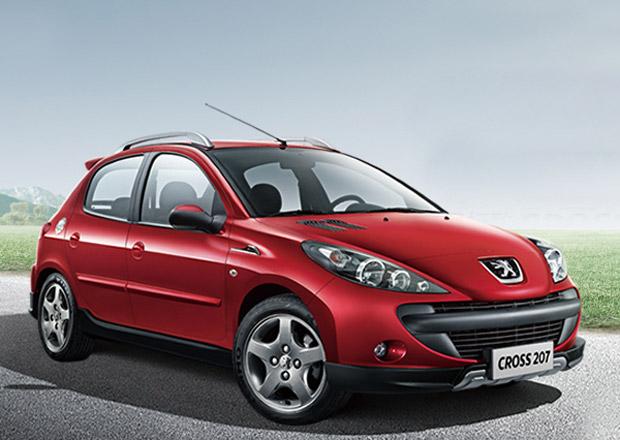 Čínský Peugeot Cross 207: Nový dres pro 206