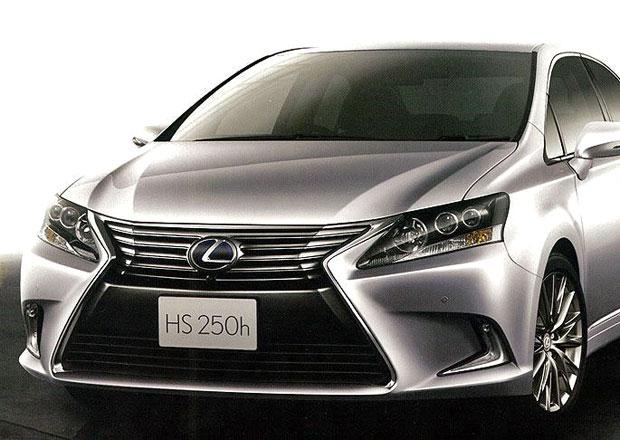 Lexus HS 250h: Omlazení pro prémiový hybrid