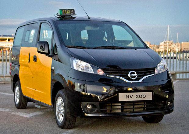 Nissan NV200 Taxi pro Barcelonu