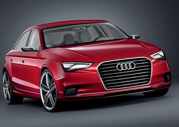 Audi S3 dorazí také ve verzi sedan