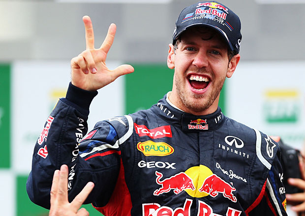 Formule 1: Sebastian Vettel je trojn�sobn�m mistrem sv�ta